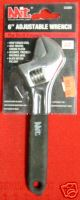 """New MIT 6"""" Adjustable Wrench 3/4"""" Jaw Capacity #2300B"""