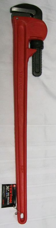 """New MIT Heavy Duty 36"""" Pipe Wrench #2395"""