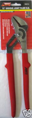 """New A.T.E. 12"""" Groove Joint Pliers Heavy Duty #30113"""
