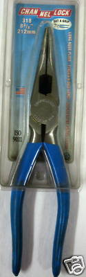 """New Channellock 8-3/8"""" Long Nose Plier"""