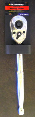 """New Gear Wrench Quick Release Tear Drop Ratchet 1/2"""" Dr #81309"""