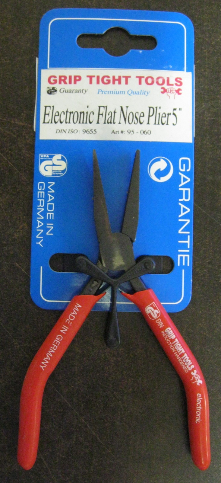 """New Grip Tight Tools 5"""" Electronic Flat Nose Mini Plier #95-060"""