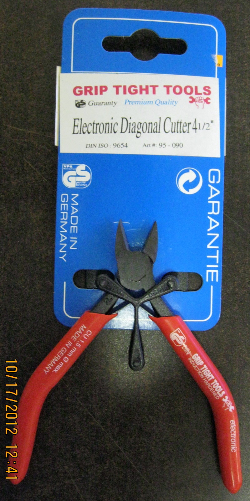"""New Grip Tight Tools 4-1/2"""" Electronic Diagonal Cutter #95-090"""