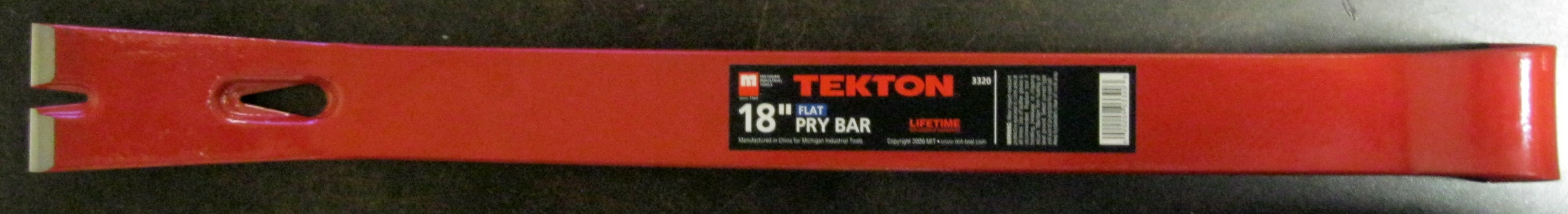 """New MIT 18"""" Utility Pry Bar Flat Ripping, Pulling"""