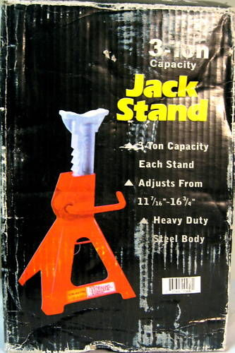New Pair Steel 3 Ton Jack Stands Lift