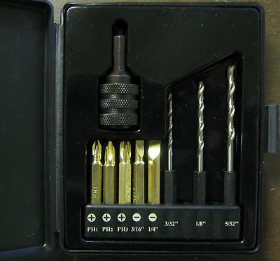 New-Northern-Industrial-Tools-9Pc-Quick-Change-Chuck-Kit-w-Bits-151410