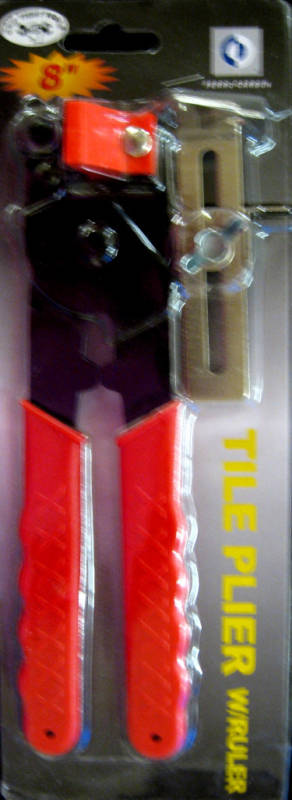 """New Grip Tight Tools 8"""" Tile Pliers With Ruler #T1503"""